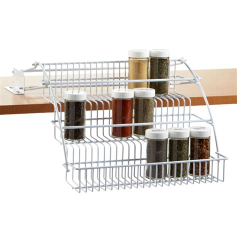 rubbermaid coated wire in cabinet spice rack pull out spice rack rubbermaid pull spice rack