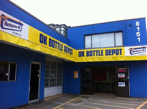 o k bottle depot recycling center richmond bc
