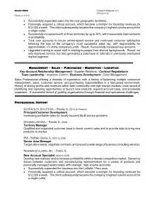 sle resume for regional sales manager 28 images sle