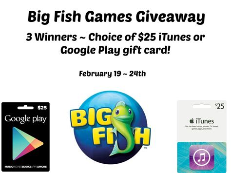 Play Games To Win Gift Cards - enter to win 3 winners 25 itunes or google play gift card