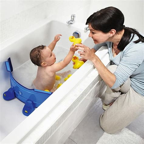 aquatic bathtub baby dam a bathtub water divider that saves water while