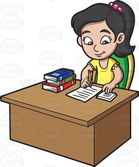 doing work you today books a doing homework clipart clipartxtras