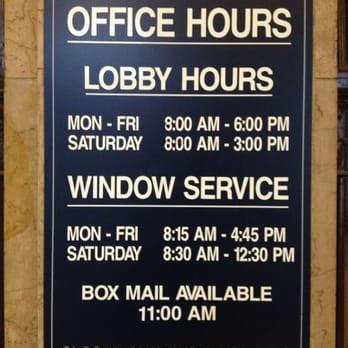 post office hours for us post office post offices 1 morris st morristown
