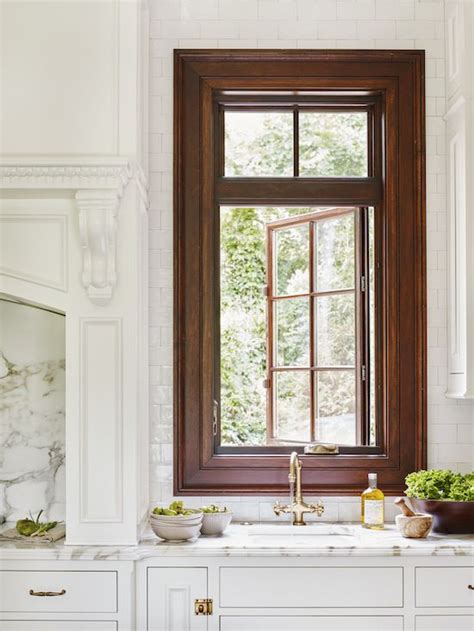 Trim Around Windows Inspiration Wide Stained Wood Trim Around Window Gorgeous Jackbilt Homes Windows Wood