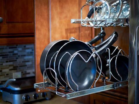 Cooking Pan Storage Clever Kitchen Organization Ideas Hgtv