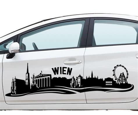 Autoaufkleber Drucken österreich by Autoaufkleber Wien Skyline Car Sticker Auto 214 Sterreich