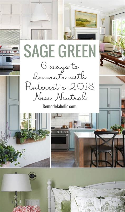 sage green 6 ways to decorate your home with pinterest s
