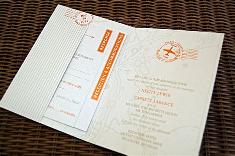 wedding invitation ideas make your own jaw dropping travel themed wedding invitations