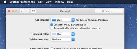 mac os x top bar how to enable dark mode on mac os x