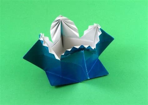 Origami Fancy Box - fancy box traditional gilad s origami page
