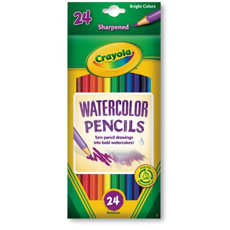crayola 174 watercolor pencils set of 24