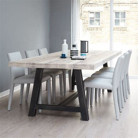 metal and wood kitchen table 25 best ideas about metal table legs on diy