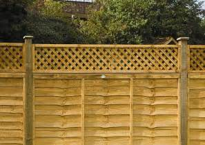 trellis top fence panels trellis top framed