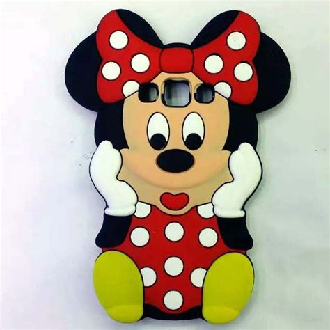 Softcase List Mickey Minnie Mouse Soft Cover Casing Iphone 4 4s new 3d mickey minnie mouse soft for coque samsung galaxy a3 a300 a5 a500 a7 back cover