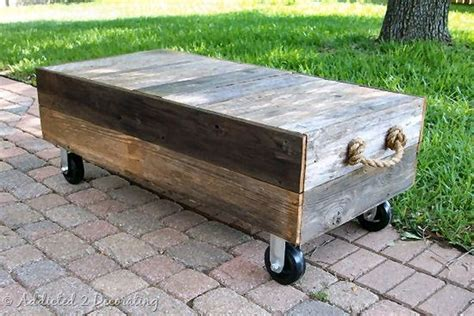 simple diy cart style table