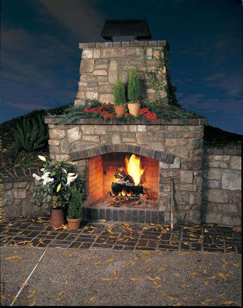 Eldorado Outdoor Fireplace - fireplaces eldorado stone