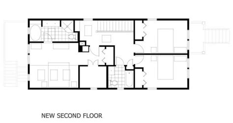 second floor addition plans second story addition floor plan for the home pinterest