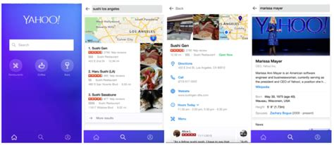Yahoo Search Phone Yahoo Introduces Updated Search App For Iphone Improve My Search Ranking