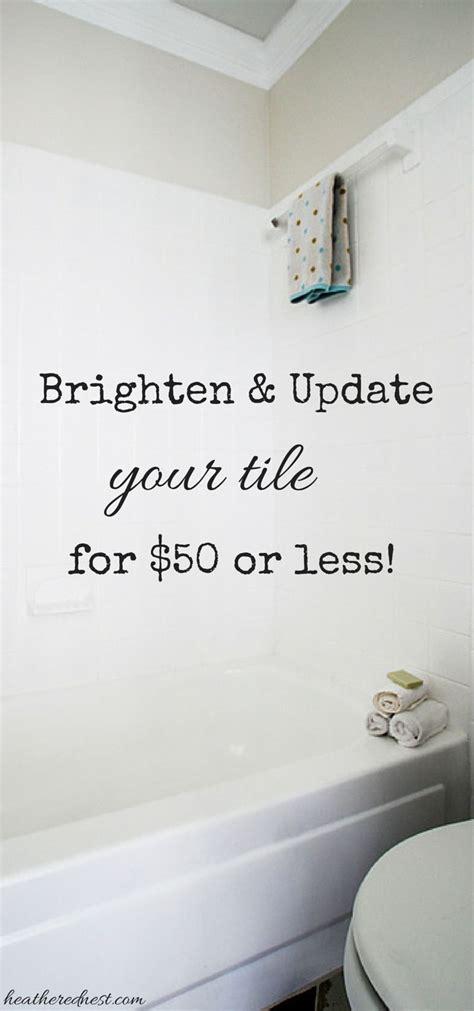 spray tiles in bathroom 1000 ideas about rustoleum paint colors on pinterest