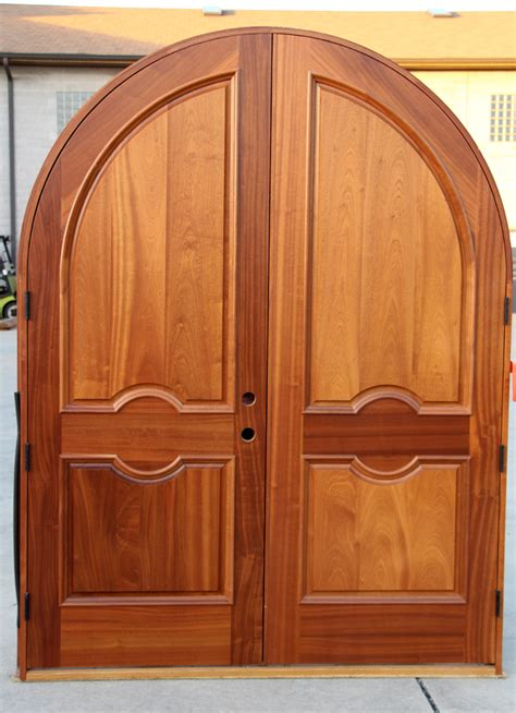 Arched Exterior Doors by Arched Doors Exterior Mahogany