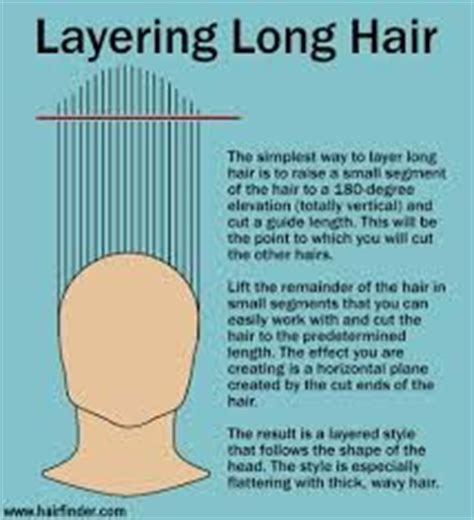diagram of farrah fawcett haircut cutting hair layered hairstyles and long layered on pinterest
