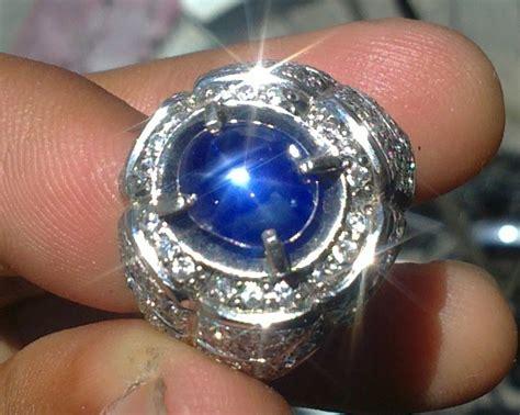 Blue Saphire Ster Tajam Mantap java gemstones blue safir birma vs black golden