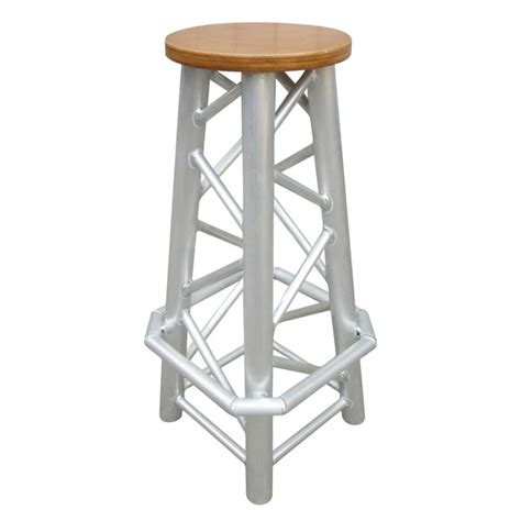 Sturdy Stool by Showtec Truss Stool Quatro Sturdy Bar Stool Made Out Of Quatro Truss Trussing Showtec