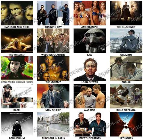 ultimate film quiz questions guess the movie 4 pics 1 movie level 18 answers 4 pics 1