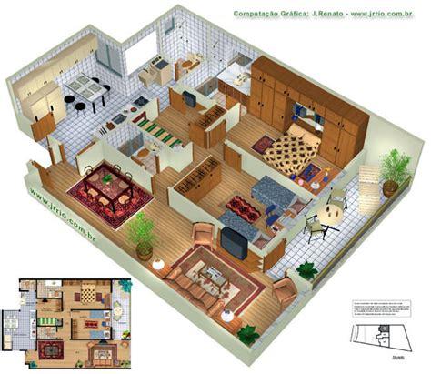 planta baixa 3d plantas de casas modelos planta baixa projetos 3d plantas e constru 231 227 o