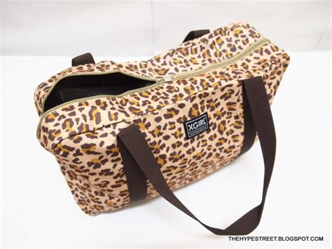 Tas Leopard Cap hype 2011 fall collection leopard bag in store