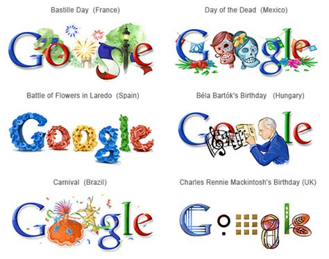 design google logo online google doodles from many places blog silex technologies