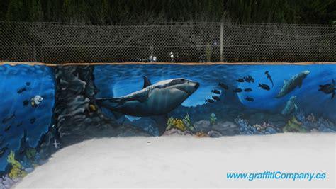 graffiti company blog decoracion de paisaje marino en piscina