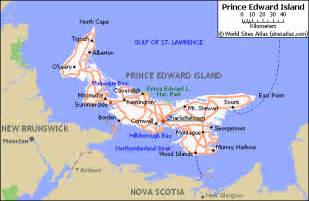map of roads of prince edward island maps of canada