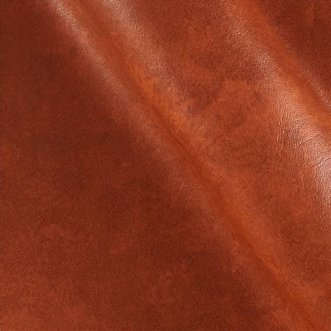 Faux Leather For Upholstery by Faux Leather Caprice Bourbon Discount Designer Fabric