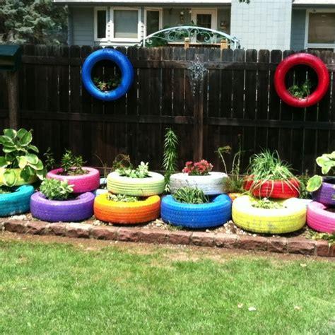 Tire Garden Ideas Best 20 Tire Garden Ideas On Tire Planters Tires Ideas And Diy Yard Decor