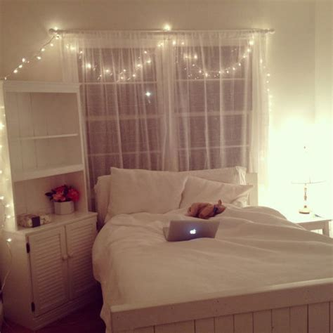 fairy lights bedroom tumblr room lighting ideas tumblr