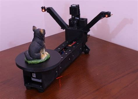 laser scanner 3d diy diy raspberry pi 3d scanner launches on kickstarter