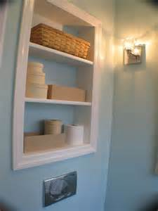 recessed shelves in bathroom 25 best ideas about recessed shelves on pinterest
