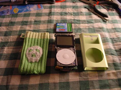 Turn Your Ipod Mini Purple by Turn Your Ipod Mini Into A Flash Based Ipod Projects