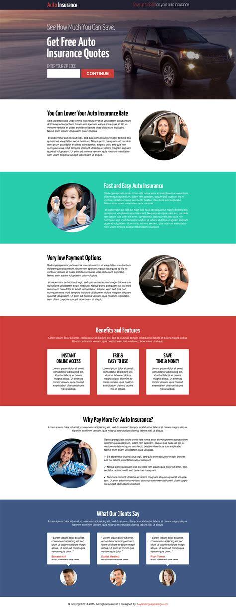 responsive landing page designs   capture leads
