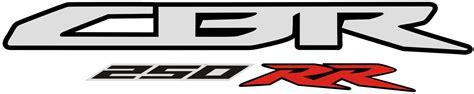 Visor Rr Lama Logo Bening Dan Hitam jual stiker sticker motor cbr 250rr logo advance sticker
