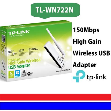 Tp Link High Gain Wireless Usb Adapter 150mbps Tl Wn722n White tp link 150mbps high gain wireless usb adapter tplink wn722 personal computer center