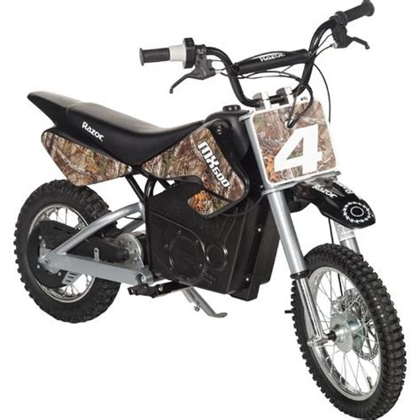 razor motocross bike razor 174 adults dirt rocket mx500 camo electric dirt bike
