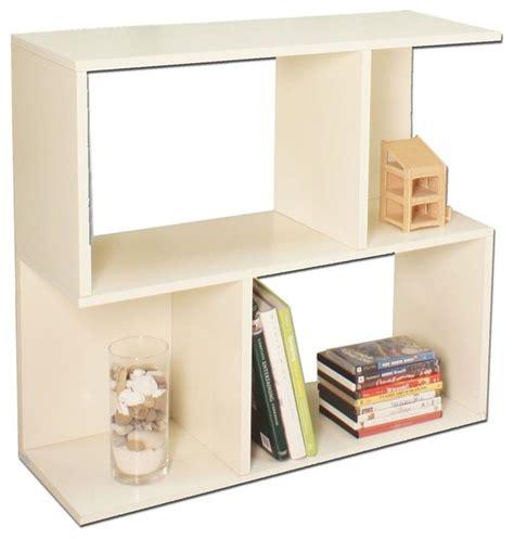 Modular Storage Bookcase In White Contemporary Bookcases White Modular Bookcase