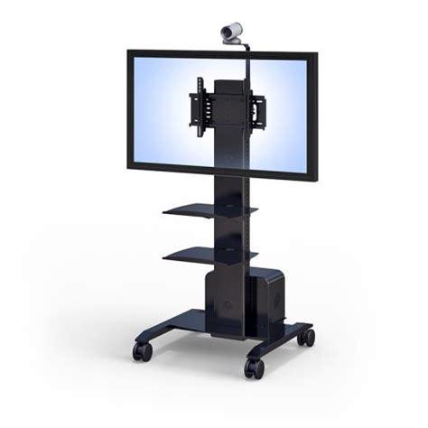 tv gestell rollen rolling flat screen tv stand afcindustries