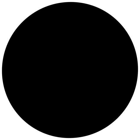 Circle Black gis for radio maps alloutput