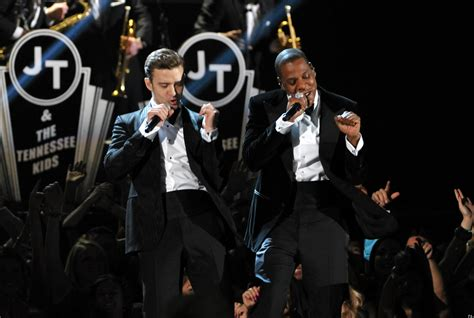 Finalists Named In Grammy Contest With Timberlake by Grammys 2013 Justin Timberlake Performs Suit Tie