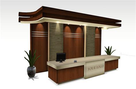 Second Life Marketplace Grand Reception Desk Furniture Lobby Reception Desk