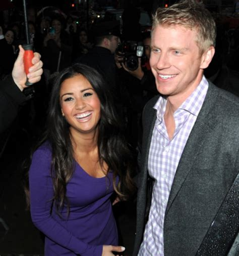 sean and catherine the bachelor sean lowe s girlfriend is catherine giudici