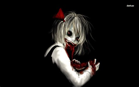 anime girl creepy wallpaper creepypasta wallpaper hd wallpapersafari